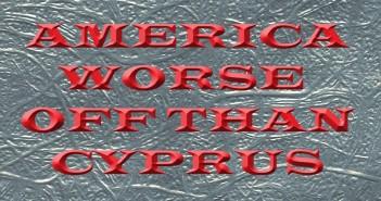 America Worse Off Than Cypress – Daniel Ameduri