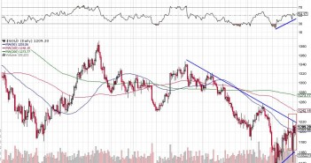 No Follow Through In Gold And Silver Although Bullish Signs - Chart 1