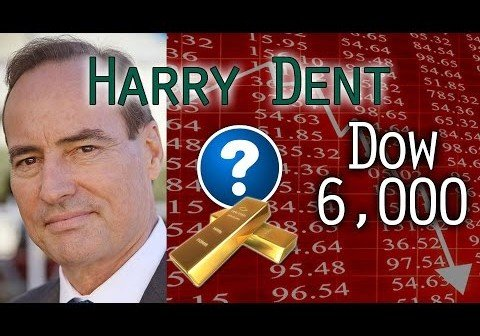 Dow to Crash to 6,000 Before 1 Year, World Depression, Oil Crash, Deflation & More – Harry Dent Interview Mar 28