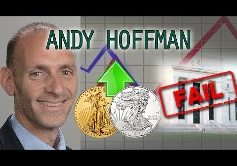 Gold & Silver Manipulation Steadily Approaching the End – Andy Hoffman Interview