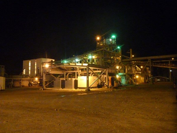 K92 Mining Plant at Night