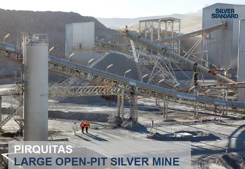 Pirquitas Large Open-Pit Silver Mine - Golden Arrow Resources Corporation