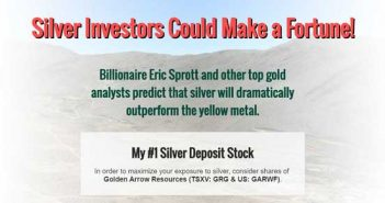Silver Investors Could Make a Fortune - Golden Arrow Resources
