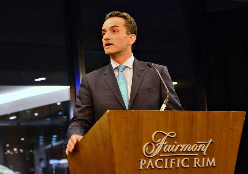 Amir at Presentation
