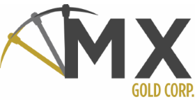 MX Gold Corp Logo
