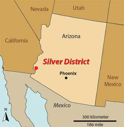 Silver District - Magellan Gold Corporation