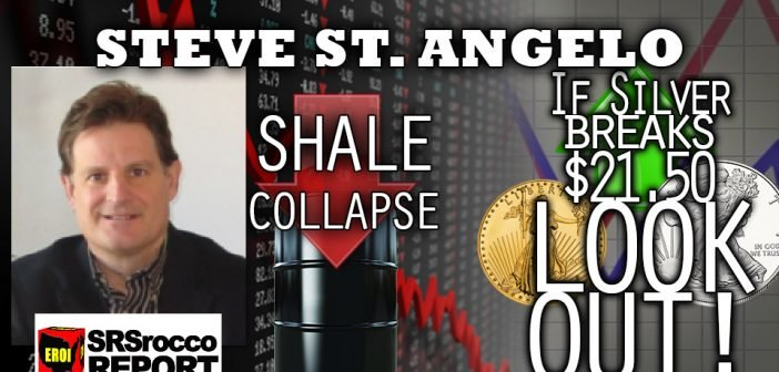 US Energy and Economy Collapsing Under Out of Control Debt Burden - Steve St. Angelo Interview