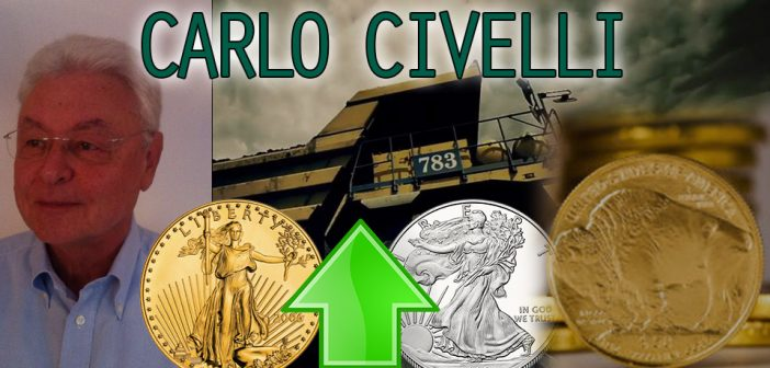 Carlo Civelli,Callinex Mines,invest in gold,physical gold,mining stocks,GDX,GDXJ,HUI,junior mining,get rich,profit big,make money gold,make money silver,invest in silver,invest zinc,invest copper