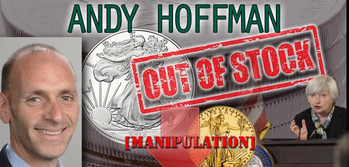 Andy Hoffman,Miles Franklin,bullion dealer,central bank,gold manipulation,silver manipulation,JP Morgan,Janet Yellen speech,Jackson Hole,Federal Reserve,physical gold,paper manipulation,GLD,SLV,gold crash,silver crash,gold dump,$1.5 Billion gold,hedge fund dumps