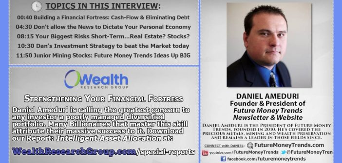 Daniel Ameduri on Wealth Research Group: Time-Tested Success Principles & the Dire State of the Global Economy