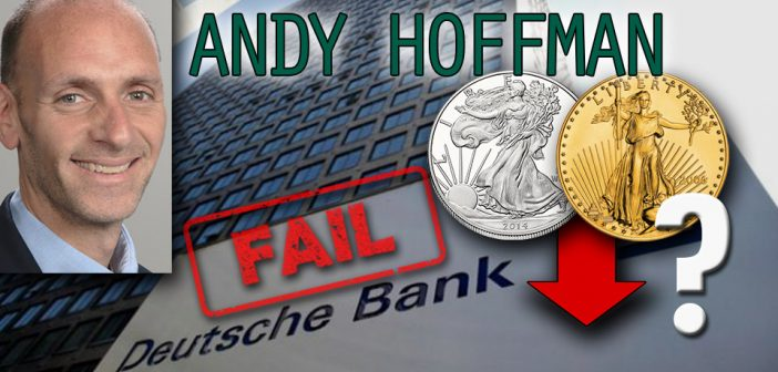 Andy Hoffman,Miles Franklin,physical bullion,gold bullion,buy gold,buy silver,silver bullion,physical silver,silver manipulation,gold manipulation,Deutsche Bank,zerohedge