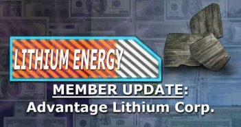 Member Update on the Best Lithium Company Right Now - David Sidoo, Advantage Lithium Corp
