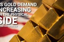 US Gold Demand Increasing on the Physical Side - Peter Hug
