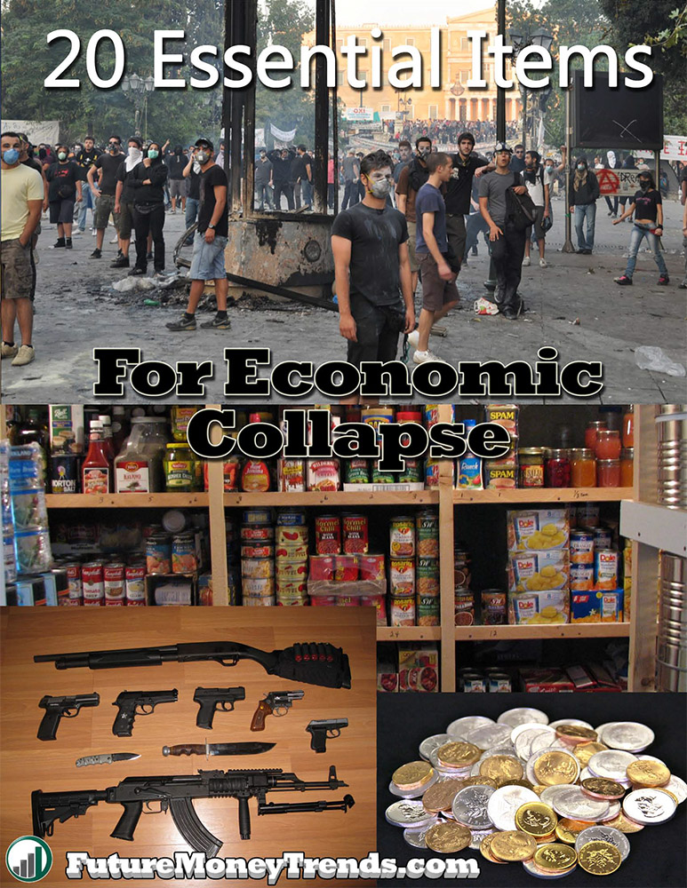 20 Essential Items for Economic Collapse