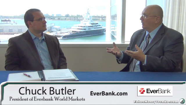 Are we in a Currency War? Bitcoin? – Chuck Butler of EverBank Interview