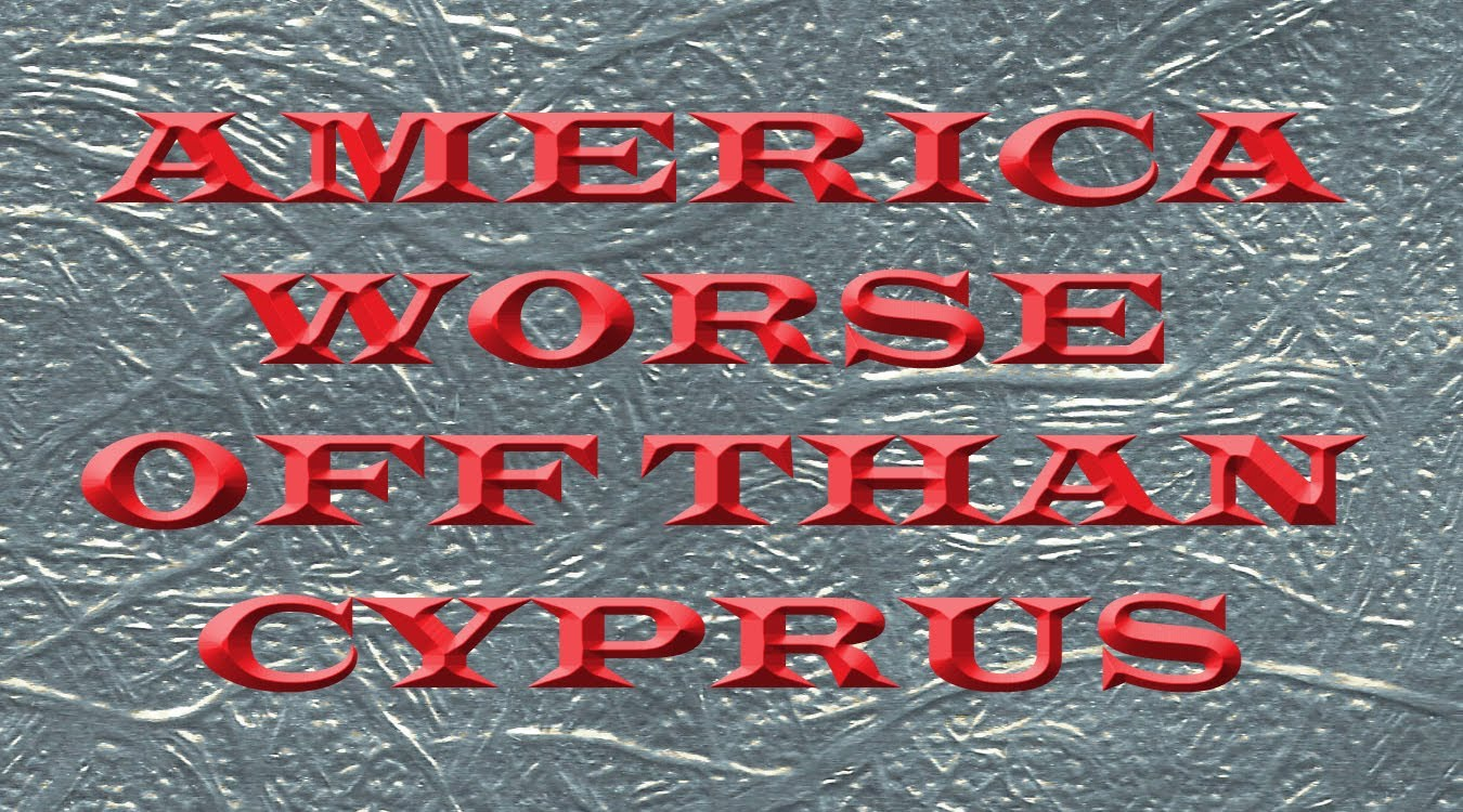 America Worse Off Than Cypress – Daniel Ameduri