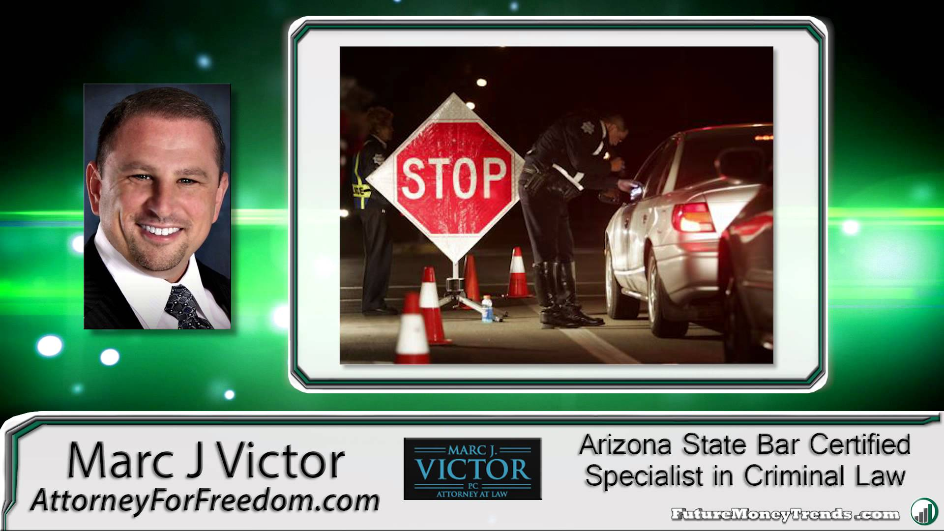 What to Do at a DUI Checkpoint with Marc J. Victor, Attorney for Freedom
