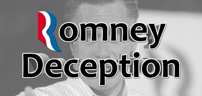 The Romney Deception (Full Documentary)