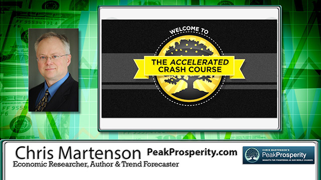 Peak Cheap Oil… Economic Expert Chris Martenson Interview