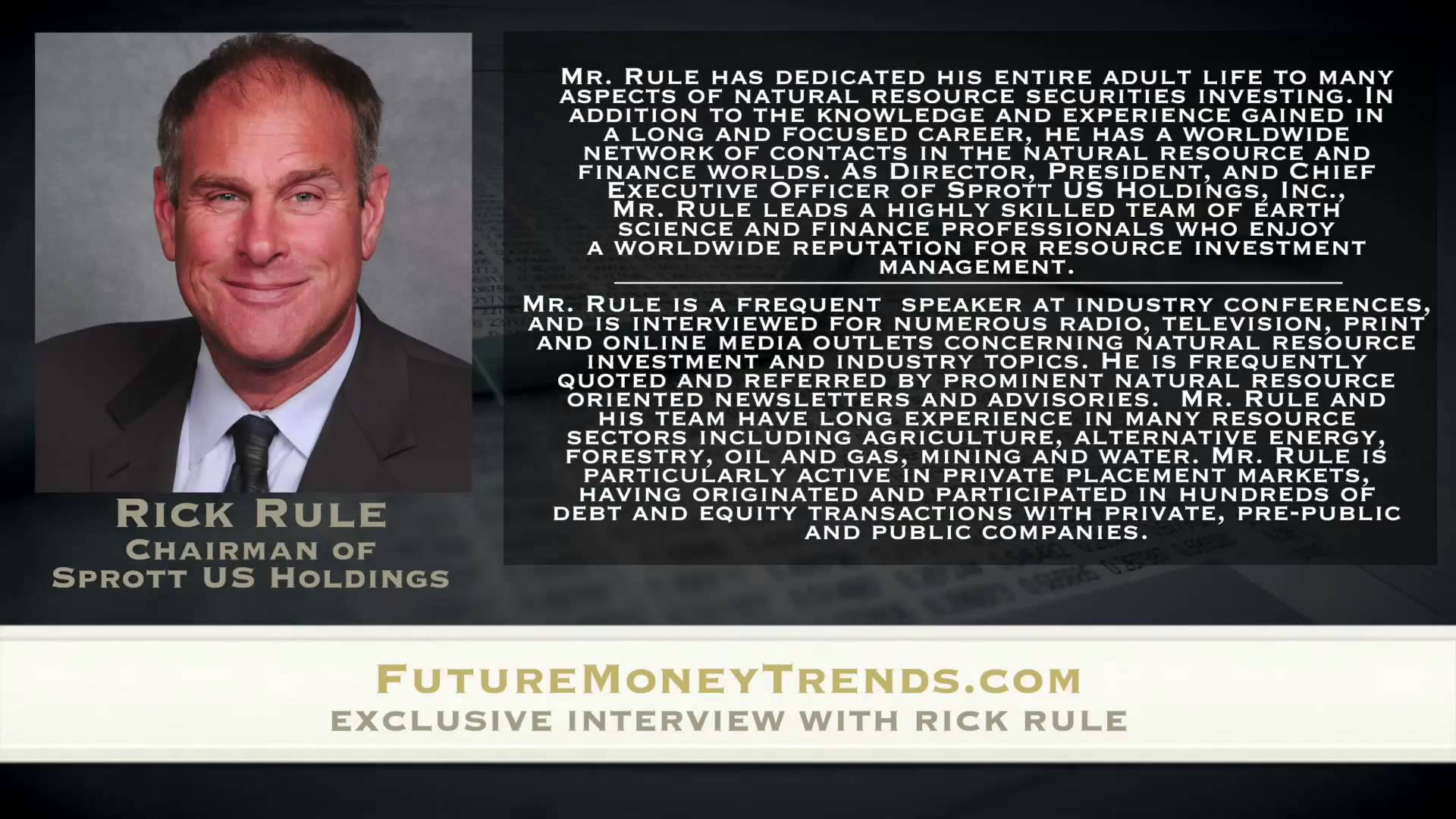 Gold and the Dollar are at War – Rick Rule Interview