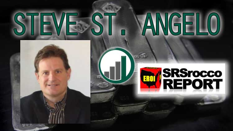Silver Shortage Coming… Steve St. Angelo SRSrocco Interview