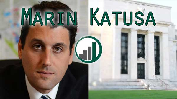 Federal Reserve Can't Raise Rates Because of Deflation – Marin Katusa Interview