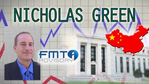 China Will Eventually do QE, FED will Keep Rates Low – Nicholas Green of FMT Advisory