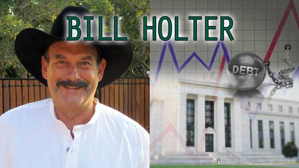 Normal Interest Rates are Not Possible at Our Debt Levels – Bill Holter Interview