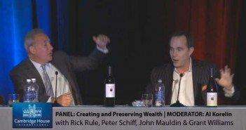 Peter Schiff Vs. John Mauldin... Epic Debate ft. Rick Rule