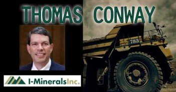 The Rise of Cash Flow Machine... Interview with Thomas Conway of I-Minerals