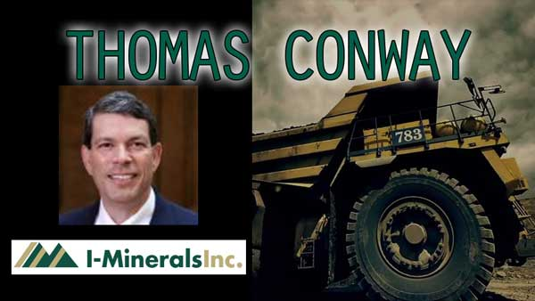 The Rise of Cash Flow Machine… Interview with Thomas Conway of I-Minerals
