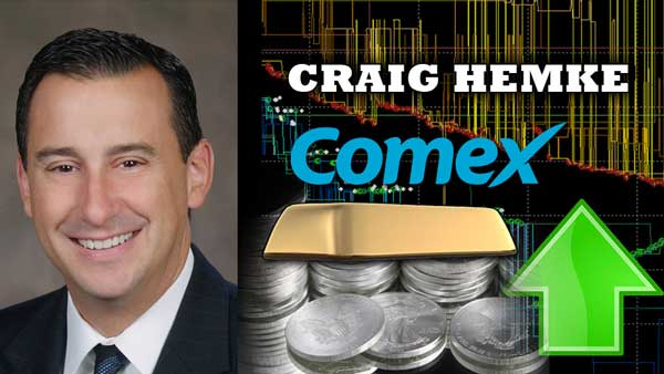 Precious Metals BIG SHIFT Coming! COMEX LBMA to Break – Craig Hemke of TF Metals Report