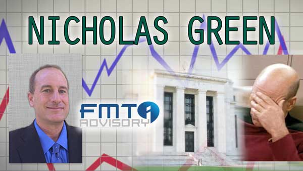 Rate Hike Failure: The Market Carnage Shows the FED is Incompetent – Nicholas Green Interview