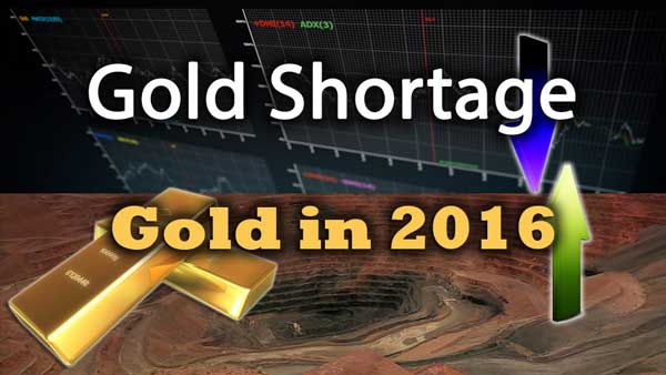 A Geological Shortage of Gold Is Here