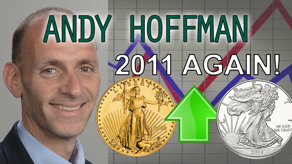 Gold & Silver Setup for Bigger Gains than in 2011! – Andy Hoffman of Miles Franklin