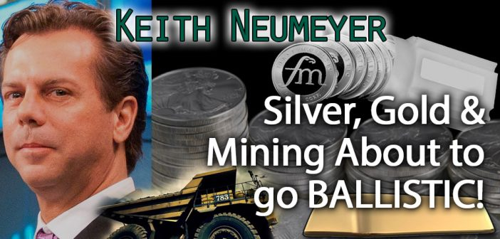 Silver should be $140 RIGHT NOW based on Silver to Gold Mining Ratio - Keith Neumeyer, Silver Mining CEO