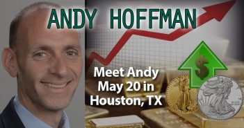 Default Coming on National Debt, Gold/Silver Imminent Skyrocket - Andy Hoffman of Miles Franklin