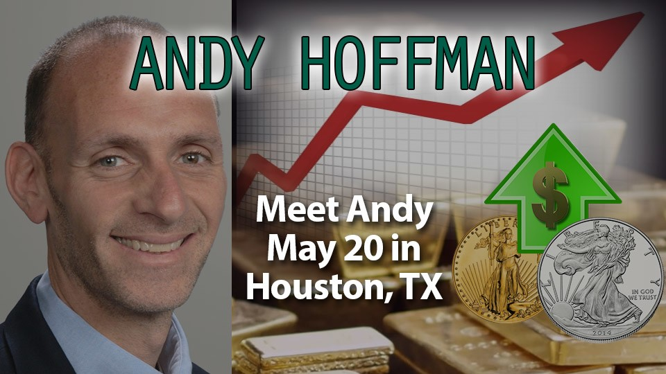 Silver Holds $17, Trump to Default on Debt & May 20 Houston Conference – Andy Hoffman Interview