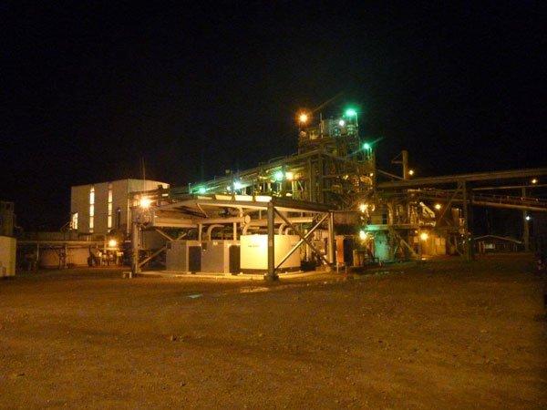K92 Mining Plant at Night