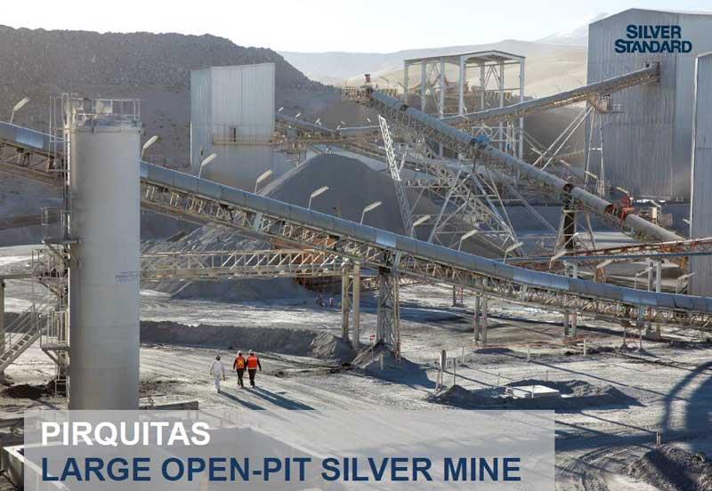 Pirquitas Large Open-Pit Silver Mine - Golden Arrow Resources Corporation