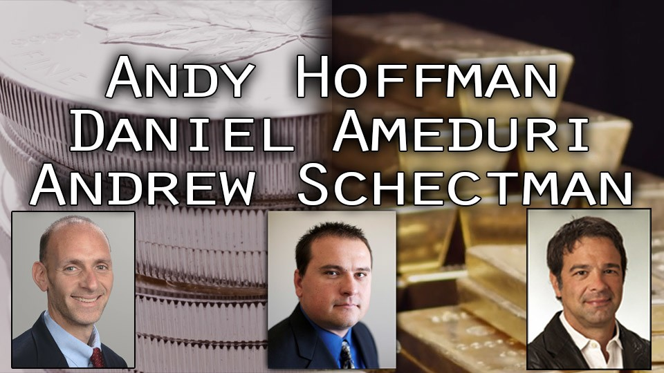 Live Precious Metals Q&A with Miles Franklin's Andy Hoffman & Andy Schectman hosted by Daniel Ameduri