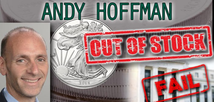 FED Fails: Silver to Skyrocket with Shortage in 2016 - Andy Hoffman of Miles Franklin Bullion Dealer