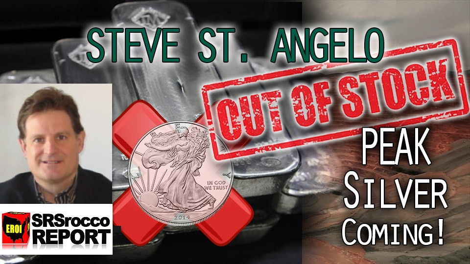 Peak Silver as COMEX has record LOW Silver Stock & High Demand – Steve St. Angelo of SRSRoccoReport.com