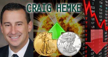 Gold & Silver Bull Run Upon Us as Retail Investors Come in Amidst Crashing Markets - Craig Hemke