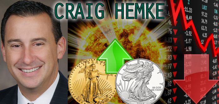 Gold & Silver Bull Run Upon Us as Retail Investors Come in Amidst Crashing Markets - Craig Hemke