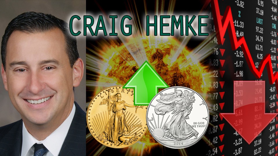 Gold & Silver Bull Run Upon Us as Retail Investors Come in Amidst Crashing Markets – Craig Hemke