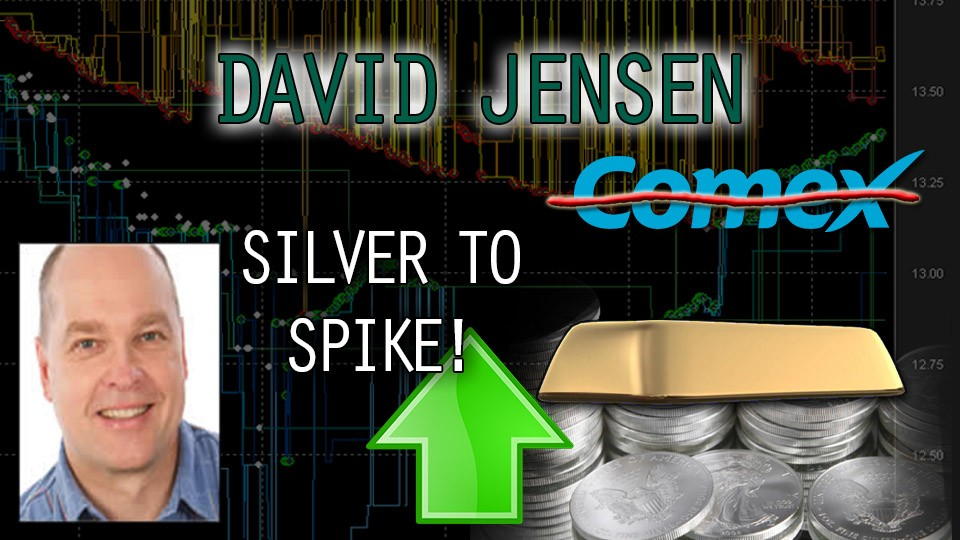 The Silver Numbers Don't Add Up, COMEX Break Soon! – David Jensen Interview