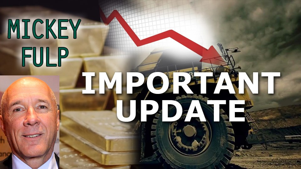 Precious Metals and Mining Shares get Slammed: Interview w/ Mickey Fulp