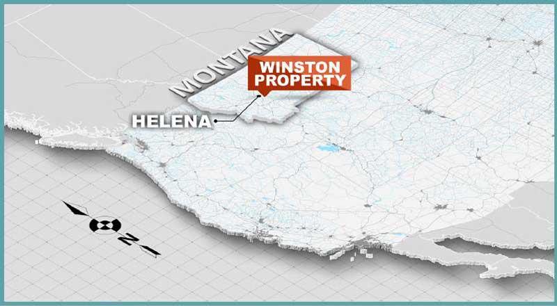 Montana Property - Winston Gold Mining Corp