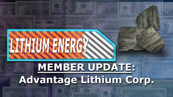 Member Update on the Best Lithium Company Right Now – David Sidoo, Advantage Lithium Corp